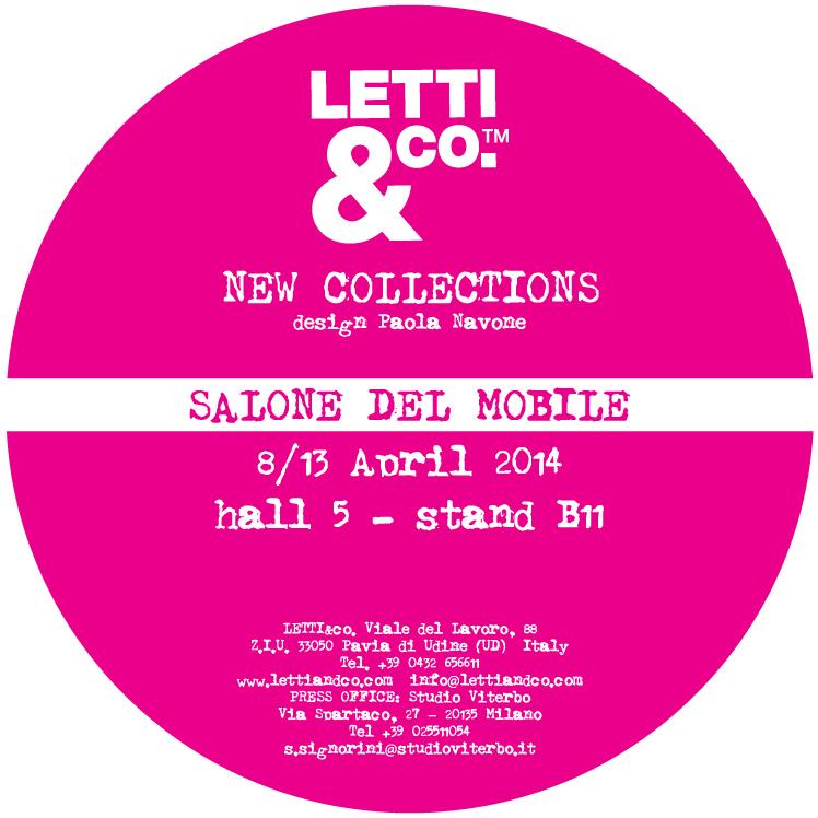 LETTIeCO Salone del Mobile 2014